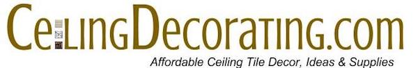 Affordable Ceiling Tile Decor, Ideas & Supplies logo