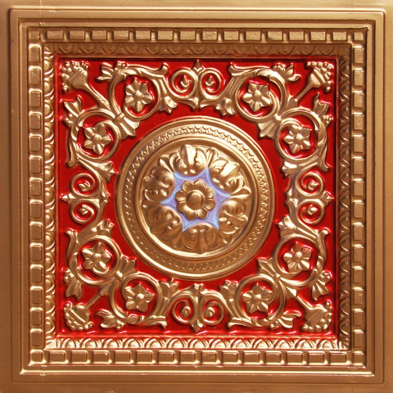 Red Ceiling Tiles Decorative Ceiling Tiles Tin Faux