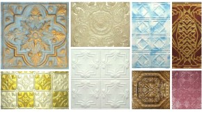Tin Ceiling Tile Finishes
