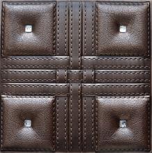 four diamonds faux leather ceiling tiles